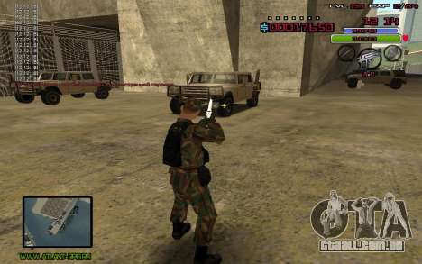 C-HUD by Mr.Bim para GTA San Andreas