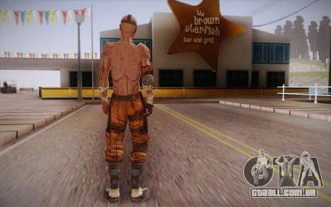 Gangster de Borderlands 2 para GTA San Andreas segunda tela