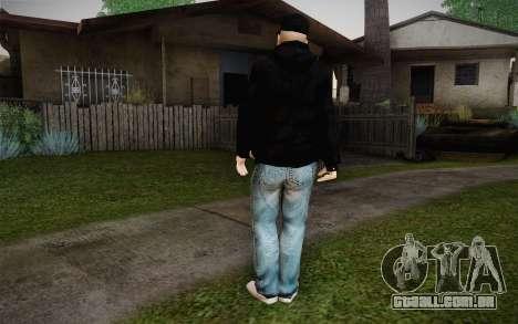 B-Real Skin para GTA San Andreas segunda tela