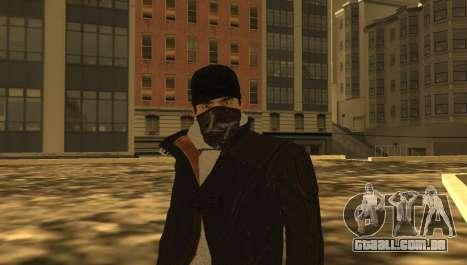 New Aiden Pearce para GTA San Andreas quinto tela