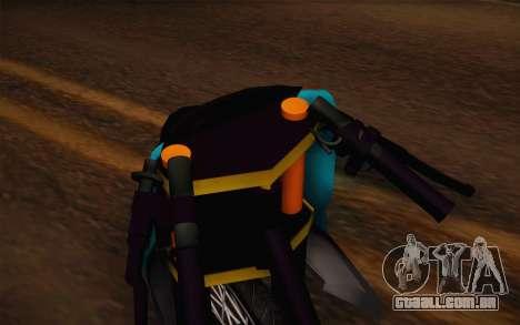 Fino Drag para GTA San Andreas vista direita