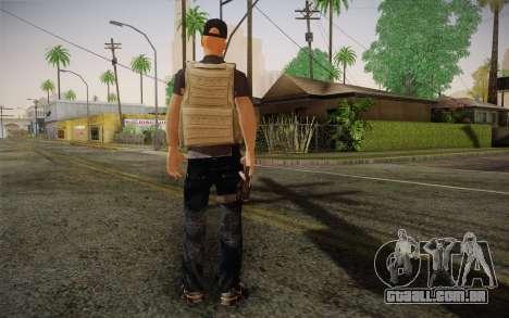 Desmadroso v1 para GTA San Andreas segunda tela