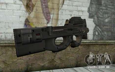 FN P90 MkII para GTA San Andreas segunda tela