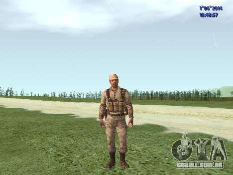 Afghanistan Soviet Soldiers para GTA San Andreas sétima tela