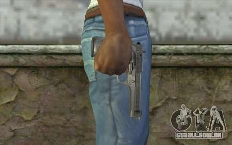 Police Beretta 92 para GTA San Andreas terceira tela