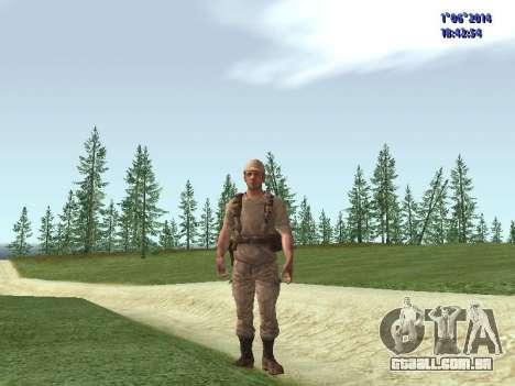 Afghanistan Soviet Soldiers para GTA San Andreas