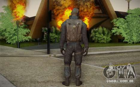 S.A.S Gas Mask para GTA San Andreas segunda tela