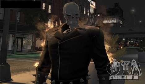Ghost Rider para GTA 4 quinto tela