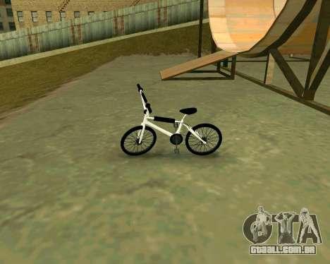BMX из GTA Vice City Stories para GTA San Andreas traseira esquerda vista