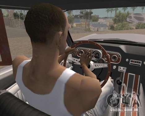 Animação pressionando sinal para GTA San Andreas