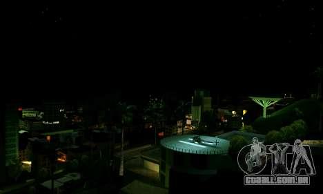 ENBSeries Rich World para GTA San Andreas por diante tela