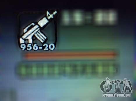 Novos recursos de armas para GTA San Andreas oitavo tela