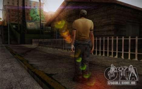Ellis from Left 4 Dead 2 para GTA San Andreas segunda tela