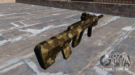 Máquina de Steyr AUG-A3 Hex para GTA 4 segundo screenshot