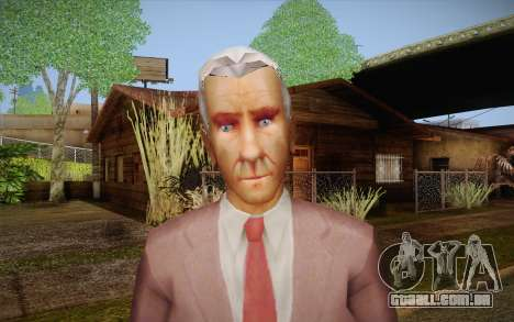 Leslie William Nielsen para GTA San Andreas terceira tela