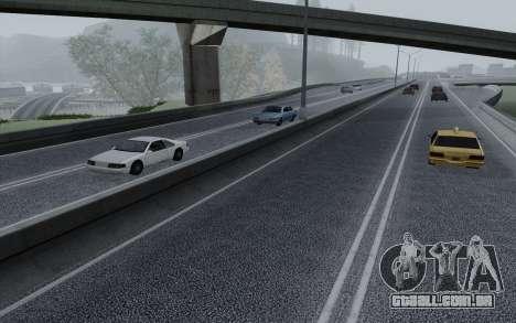 HD Roads 2014 para GTA San Andreas quinto tela