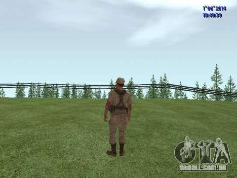 Afghanistan Soviet Soldiers para GTA San Andreas terceira tela