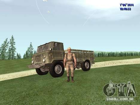 Afghanistan Soviet Soldiers para GTA San Andreas segunda tela
