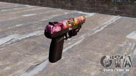 Arma FN Cinco sete Pontos LAM para GTA 4 segundo screenshot
