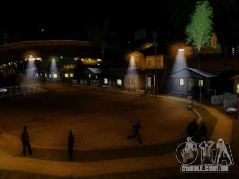 Improved Lamppost Lights v2 para GTA San Andreas por diante tela