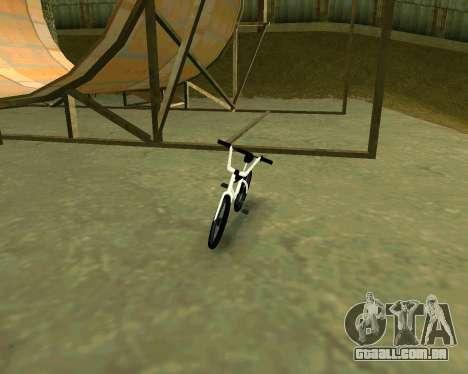 BMX из GTA Vice City Stories para GTA San Andreas esquerda vista