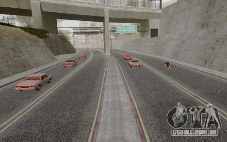 HD Roads 2014 para GTA San Andreas terceira tela