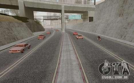 HD Roads 2014 para GTA San Andreas terceira tela
