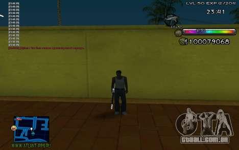 C-HUD by Miks para GTA San Andreas terceira tela
