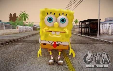 Bob Esponja para GTA San Andreas