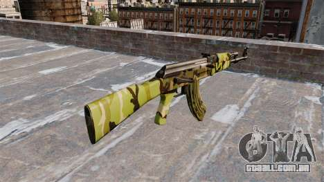 A AK-47 Floresta para GTA 4 segundo screenshot