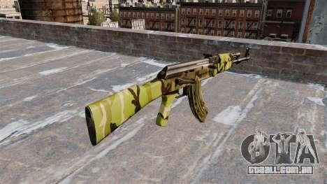 A AK-47 Floresta para GTA 4 segundo screenshot