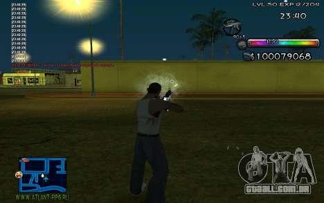 C-HUD by Miks para GTA San Andreas segunda tela