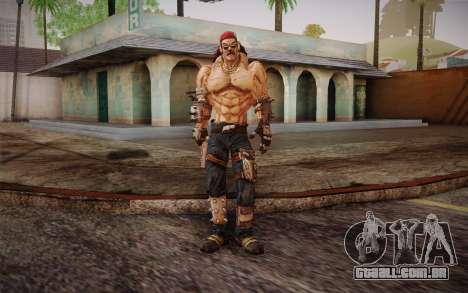 Mr. Torgue из Borderlands 2 para GTA San Andreas segunda tela