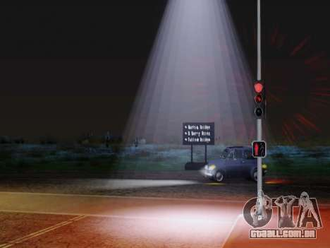 Improved Lamppost Lights v2 para GTA San Andreas