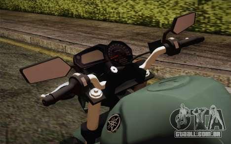 Yamaha FZ6 para GTA San Andreas vista direita