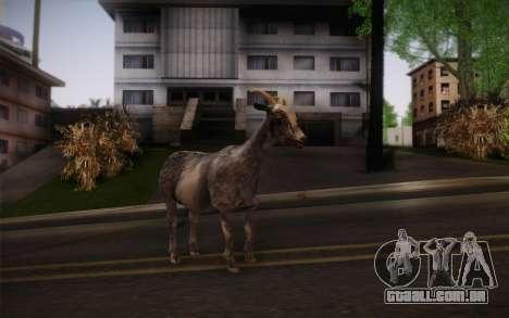 Cabra para GTA San Andreas segunda tela