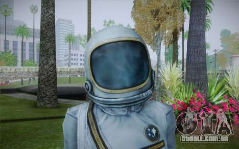Spacesuit From Fallout 3 para GTA San Andreas terceira tela
