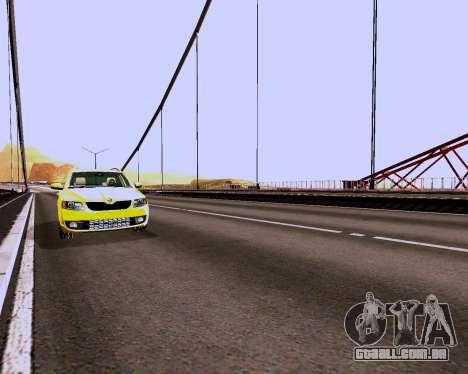Skoda Octavia A7 Combi para GTA San Andreas vista interior