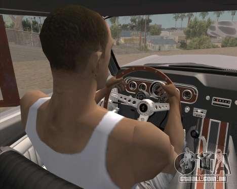Animação pressionando sinal para GTA San Andreas segunda tela