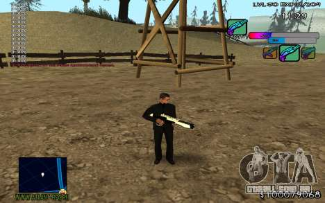 C-HUD Color para GTA San Andreas