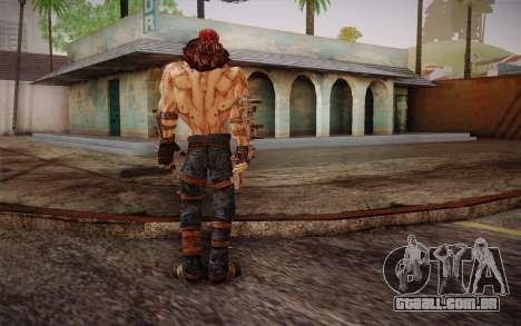 Mr. Torgue из Borderlands 2 para GTA San Andreas terceira tela