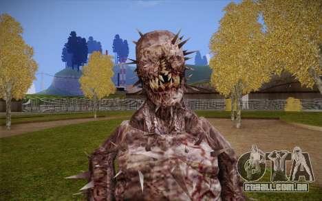 Iron Maiden from Resident Evil 4 para GTA San Andreas terceira tela