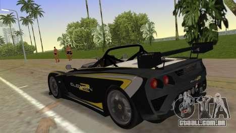 Lotus 2-Eleven para GTA Vice City deixou vista