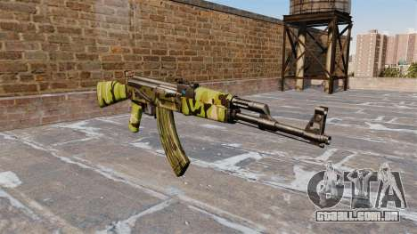 A AK-47 Floresta para GTA 4