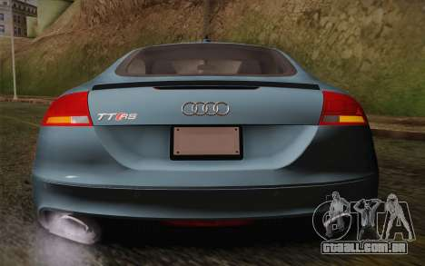 Audi TT RS 2011 para GTA San Andreas vista interior