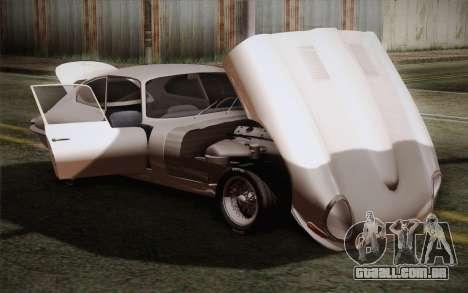 Jaguar E-Type 4.2 para vista lateral GTA San Andreas