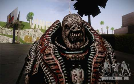 Theron Guard Cloth From Gears of War 3 v2 para GTA San Andreas terceira tela