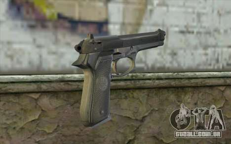 Police Beretta 92 para GTA San Andreas segunda tela