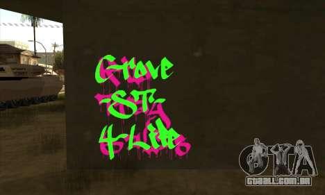 Novo grafite para GTA San Andreas segunda tela