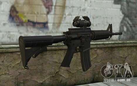 Ricks M4A1 from The Walking Dead S3 para GTA San Andreas segunda tela
